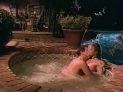 Big tit blonde softcore hot tub sex