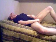 Wank in bed