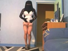 no panties in niqab