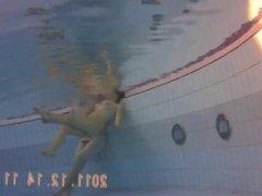 nude underwater candid
