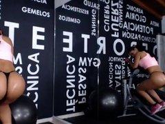 Fat Ass Hot Latina workout Part 1