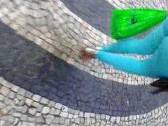 Legging Socada no rabo 2