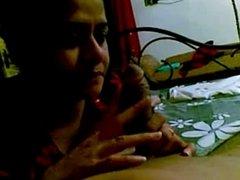 Desi bhabhi hot blowjob to devar