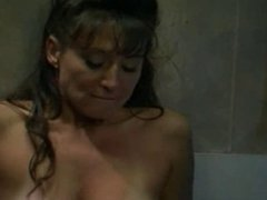 Cunnilingus in toilet