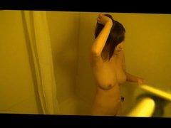 Nicely Places Bathroom Spycam Shower - Pretty Asian Body