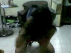 Malay striptease dance