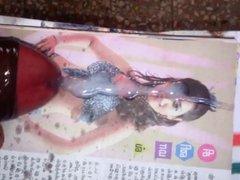 Actress Tamanna tribute
