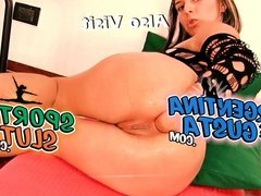 ValentyneX at ArgentinaNaked - Self Anal Fisting and FistToy