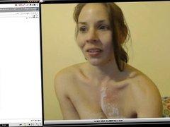 Girl After Huge Cum Shot on cam