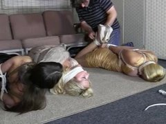Party Girls Robbed and Tied Up