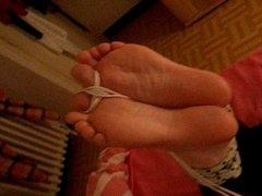 bound feet beaten  and bastinado