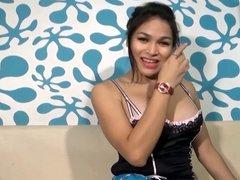 Ts Filipina Asian Busty Tranny Cum Twice