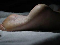 Cumming on her SOLES