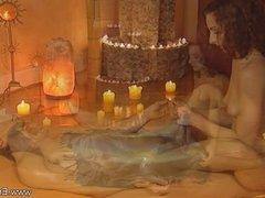Relaxing Via Handjob Massage From India