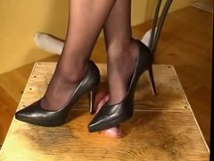 high heel trample fun