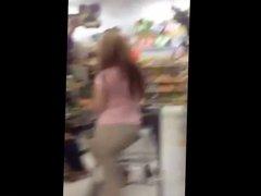 Fat Ass MILF at Walmart #1