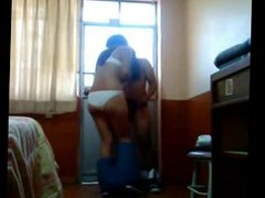 sexy latina girlfriend is eager to have a quickie