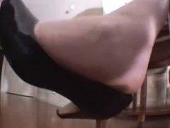 Big Blonde Nordic Soles in Your Face Paki Foot Smeller POV