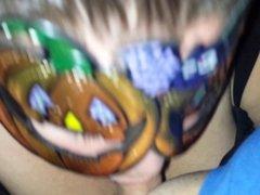 Last Year's Halloween Head.