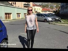 Flashing my body in public in Italy