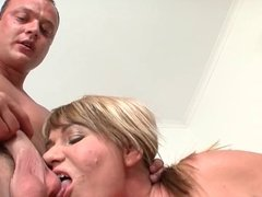 Mature woman and young man - 73