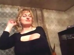 Dancing Milf With Huge Boobs