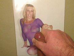 BONUS-Video as finish of my daily cum-tribute for Carol Cox