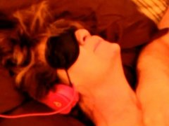 My Blindfolded MILF Wife Takes A Facial With Slo Mo