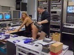 bs retro german 90's classic vintage in studio