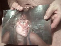 Tribute for assfuckr - facial she gets all cum