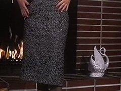 LIGHT MY FIRE - vintage stockings big boobs striptease
