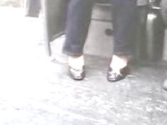 High Heels Peep Toe Shoe Play