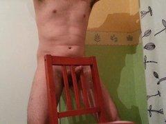 Masturbate with chair