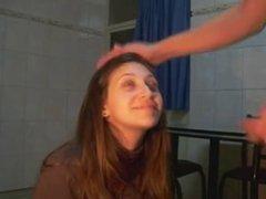 Amateur Girlfriend Blowjob with facial end