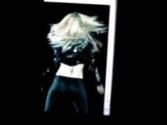 Britney Spears's ass cum tribute