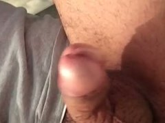 Prostate milking massage with cum
