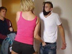 Girls rubbing cock secretly GRCS clip 003