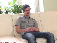 First casting Petr Vaculik huge cum from Hammerboys TV