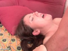 Pretty young student anal fucked and jizzed in ass