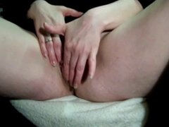 Showing Her Pussy