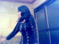 Muslim girl performing in private Mujra