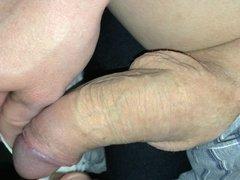 using her panties