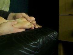 Worshiping Girlfriend's Feet