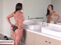 Pornstar threesome fun with busty Kendra Lust