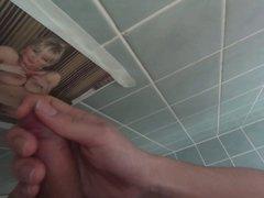 toilet masturbating 2