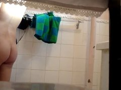 Spying not my sister-in-law in shower