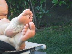 pieds d'une milf