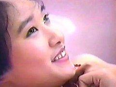 Vintage Japanese idol modeling shoot
