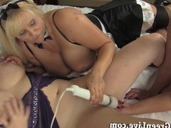 Maggie Calls Rooom Service & Gets 2 Sexy Maids!