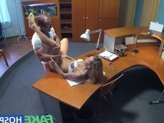 FakeHospital Horny sexy blonde patient raise the temperature